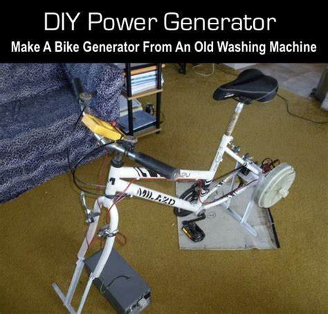 bike generator instructables autos post