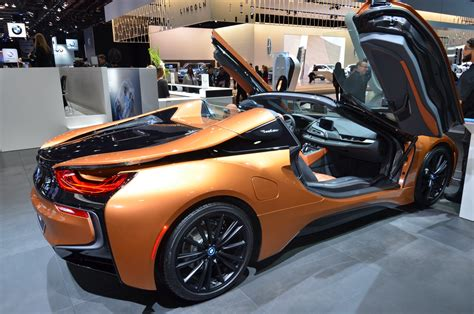 2019 Bmw Roadster by 2019 Bmw I8 Roadster Makes An Impression At Detroit Auto