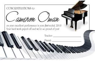 piano recital certificate newspagedesigner