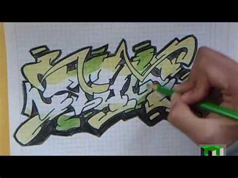 dibujando graffiti facil boceto wildstyle drawing easy