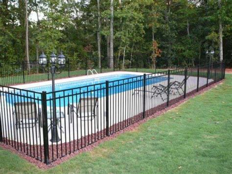 aluminum fence pictures  ideas   fence