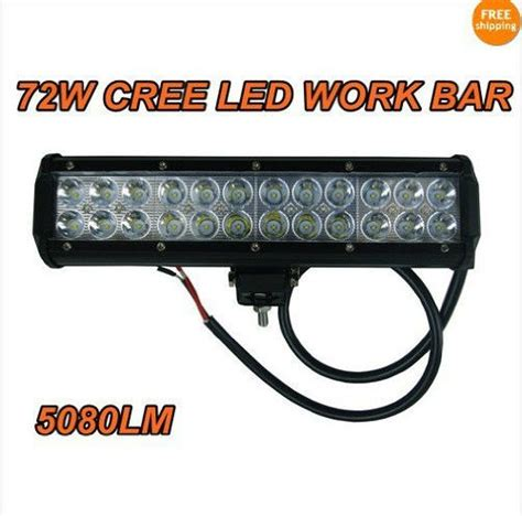 Led Light Bar Price 12 Inch 72w Cree Led Light Bar Work Light 5040lm L Sofia Alexeevafre