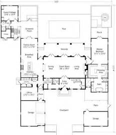 Guest Cottage Floor Plans Guest Cottage Almost Attached H Plan House Plans