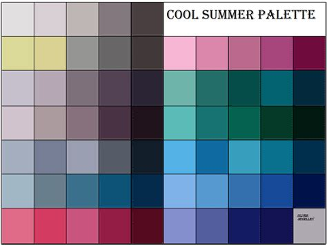 cool color schemes summer color palette color me beautiful her that