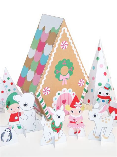 printable kawaii paper crafts cute craft tutorials handmade toys printable crafts