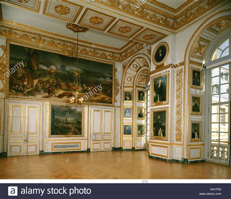 palace of versailles salle de 1792 stock photo royalty free image 663526 alamy