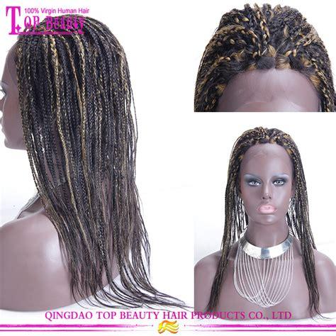 full braided wigs for black women 2016 natural looking beauty virgin brazilian hair full