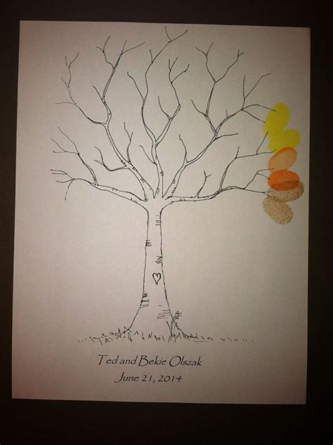 wedding tree guest book free template downloaded this free template of a diy wedding guest book