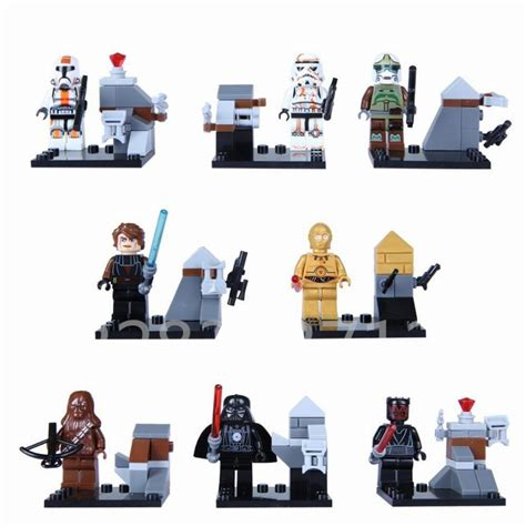 Perlengkapan Jahit Set Mini 24 Pcs 24pcs set wars minifigures the awakens kylo ren r2d2 yoda building blocks figures