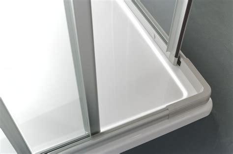 box doccia 3 lati cristallo box doccia 3 lati in cristallo quot adria quot apertura angolare