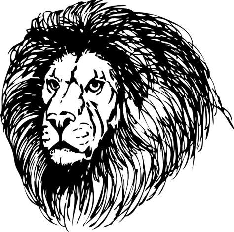 lion clip art free vector 4vector