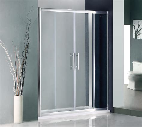 Sliding Shower Door Sliding Shower Doors As Great Choice To Save Bath Space Traba Homes