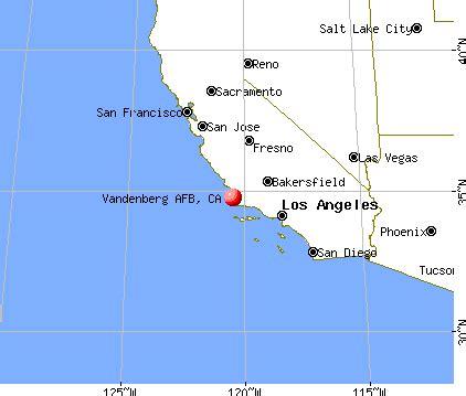 air bases in california map