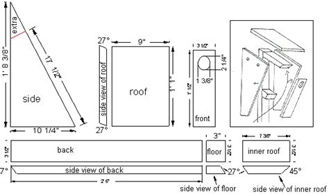 Eastern Bluebird House Plans Free Bluebird Nest Box Plans