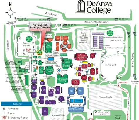 de anza map de anza college photos