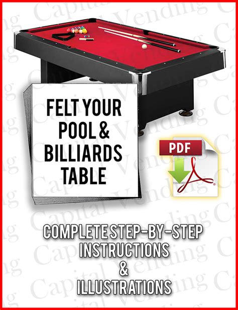how to refelt a pool table how to refelt resurface cover any pool table