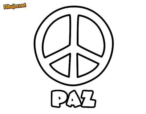 imagenes sobre simbolos de la paz dibujo de c 237 rculo de la paz para colorear dibujos net