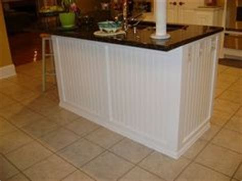 wainscoting kitchen island 1000 images about beadboard island on kitchen