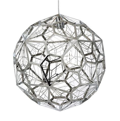 replica tom dixon etch web pendant light stainless steel