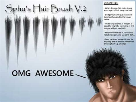 download hair brushes for photoshop cs3 hair photoshop brushes 200 fabulous styles to download