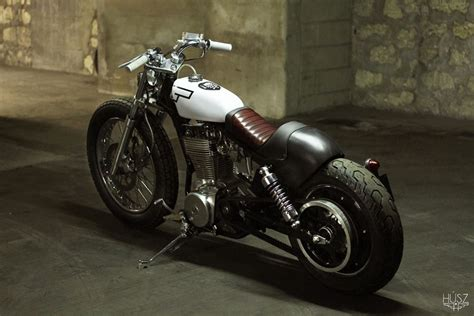 Suzuki 650 Bobber Husz Suzuki Savage Bobber Return Of The Cafe Racers