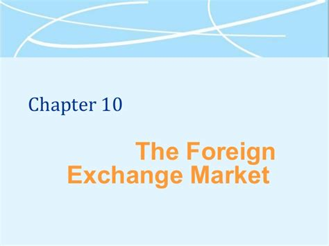 Mba Exchange Cost by Mba 531 Week 4 Overview Chap 10 12