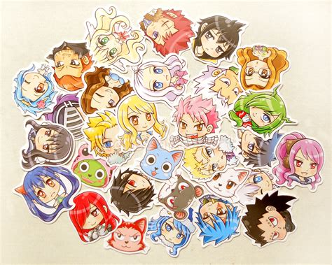 Anime Nail Stickers