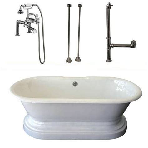 Cast Iron Bathtub Prices by Barclay Products Cast Iron Roll Top Bathtub