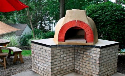 build a brick oven backyard how to build an outdoor brick oven