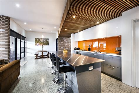 design house inside out house decorated in brick veneer inside and out