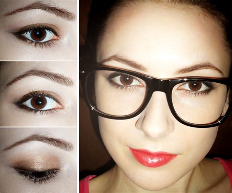 makeup tutorial for glasses fotd nerd girl or makeup for glasses