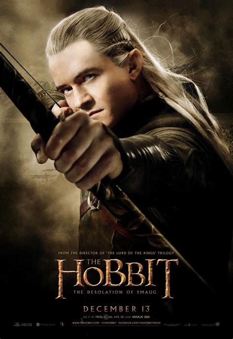 orlando bloom hobbit the hobbit the desolation of smaug posters starring