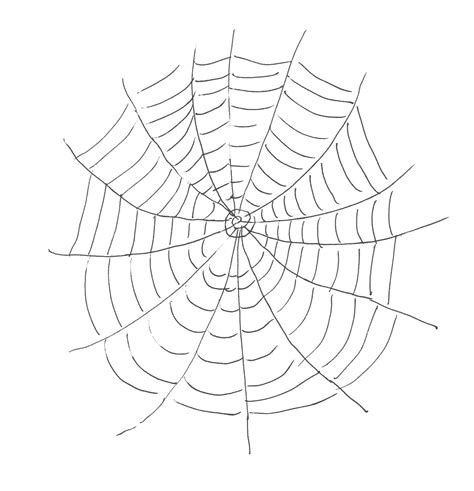 drawing web page free printable spider web coloring pages for