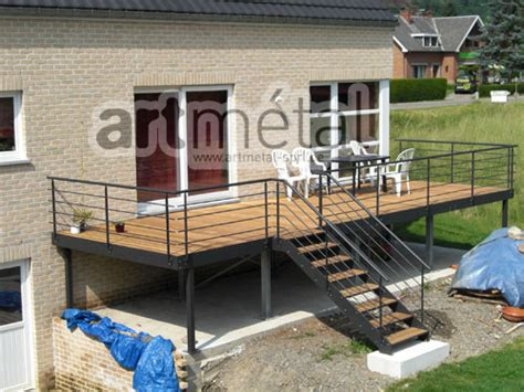 Cout Terrasse Beton by Terrasse Suspendue Cout