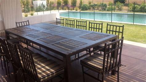 comedor de terraza comedor 12 personas fierro muebles y terraza 780 000