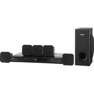 rca dvd home theater system rca 200w 5 1ch upconvert dvd home theater system rtd3266