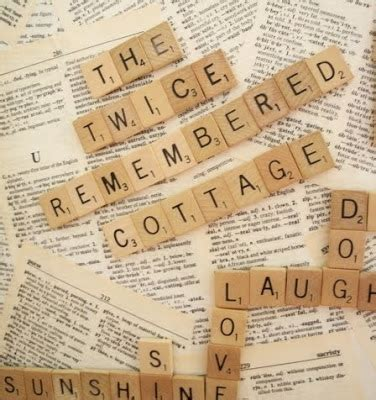 ro scrabble word the remembered cottage a cottage transformation