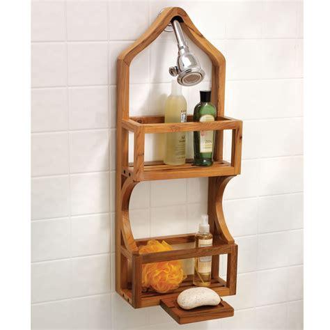 bathroom caddy ideas teak shower caddy organizer teak furnituresteak furnitures