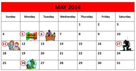 Memorial Day 2014 Calendar Memorial Day Lesson For Esl Students