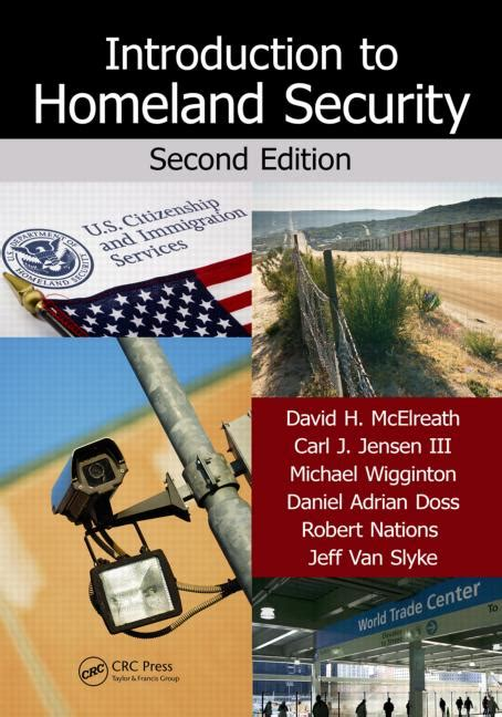 Cctv Second introduction to homeland security second edition crc press book
