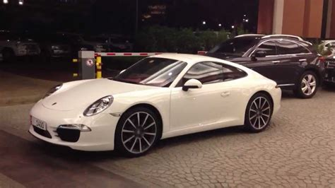 white porsche 911 2013 porsche 911 carrera white youtube