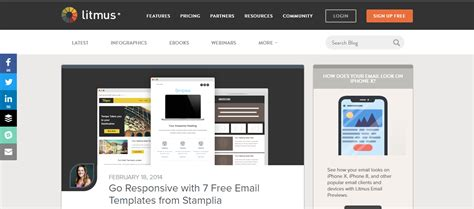 Best Responsive Email Templates Creative Wordpress Themes Responsive Email Template 2017