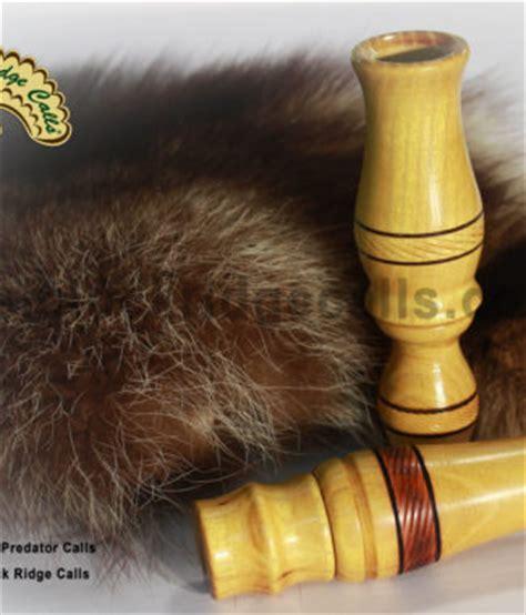 Handmade Predator Calls - hemlock ridge custom calls