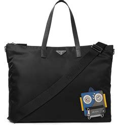 The Designer Prada Dressed Robot Tote by S Designer Accessories Mr Porter