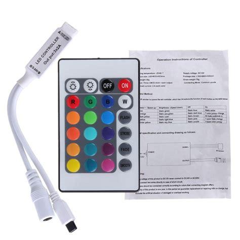 Murah 24 Key Controler Rgb 24 key mini ir remote controller for 3528 5050 rgb led