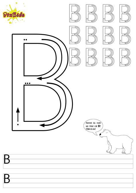 Kostenlose Vorlage Buchstaben Buchstaben Lernen Arbeitsbl 228 Tter Buchstabe B Buchstaben Zum Ausmalen Kostenlose Malvorlagen
