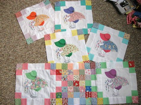 quilt pattern sunbonnet sue free sunbonnet sue quilt pattern these are some of mine
