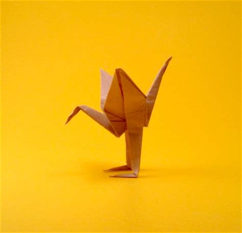 Origami Crane With Legs - origami cranes gilad s origami page