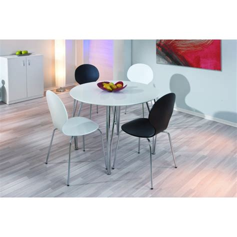 tables de cuisine rondes table ronde moderne chic et 233 l 233 gante pas cher