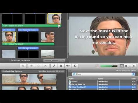 tutorial imovie audio imovie tutorial how to audio fade in and out youtube